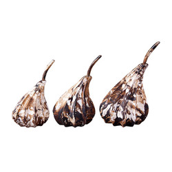 Phillips Collection Hand Dipped Pears, Set of 3