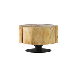 Phillips Collection Clover Coffee Table, Chamcha Wood, Natural