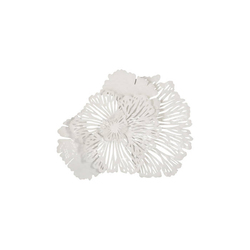 Phillips Collection Flower Wall Art White, SM