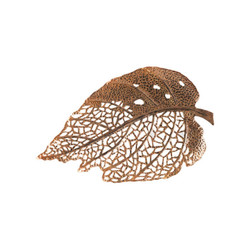Phillips Collection Birch Leaf Wall Art, Copper, SM