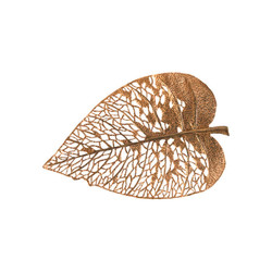 Phillips Collection Birch Leaf Wall Art, Copper, MD