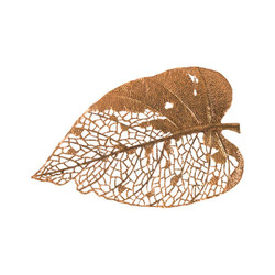 Phillips Collection Birch Leaf Wall Art, Copper, LG