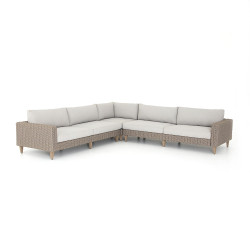 Four Hands Remi Outdoor 3 Piece Sectional