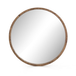 Four Hands Harlan Round Mirror