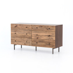 Four Hands Harlan 6 Drawer Dresser