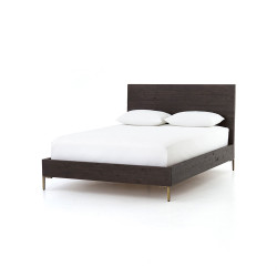 Four Hands Wyeth King Bed - Dark Carbon