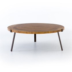Four Hands Exeter Coffee Table - Blonde