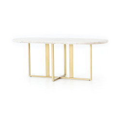 Four Hands Devan Oval Dining Table
