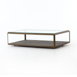 Four Hands Shagreen Shadow Box Coffee Table