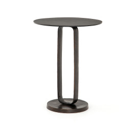 Four Hands Douglas End Table - Antique Rust