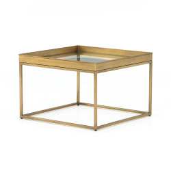 Four Hands Kline Bunching Table - Antique Brass