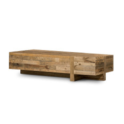 Four Hands Wynne Coffee Table - Rustic Natural
