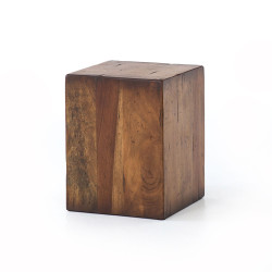 Four Hands Duncan End Table - Reclaimed Fruitwood