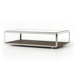 Four Hands Shagreen Shadow Box Coffee Table