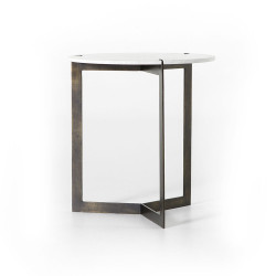 Four Hands Kiva End Table