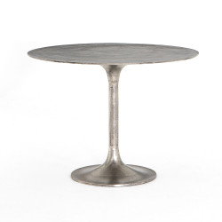 Four Hands Simone Bistro Table - Raw Antique Nickel