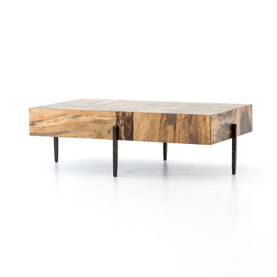 Four Hands Indra Coffee Table - Spalted Primavera