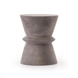 Four Hands Lina End Table - Dark Grey