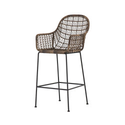 Four Hands Bandera Bar Stool + Counter Stool