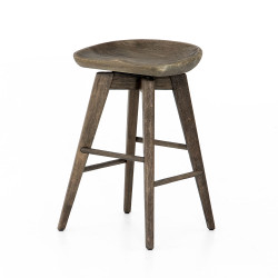 Four Hands Paramore Swivel Bar + Counter Stool