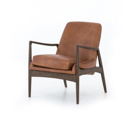 Four Hands Braden Leather Chair