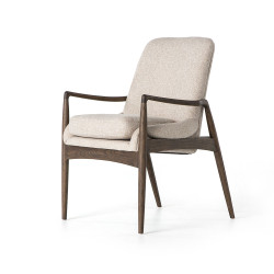 Four Hands Braden Dining Arm Chair - Light Camel