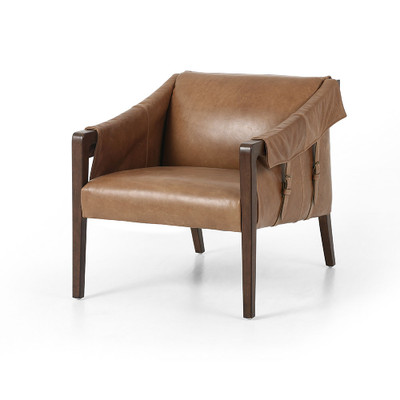 Four Hands Bauer Leather Chair