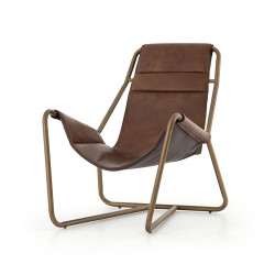 Four Hands Vera Chair - Patina Brown