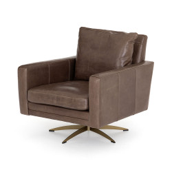 Four Hands Lyndon Swivel Chair