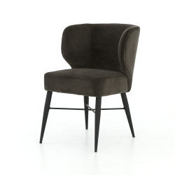 Four Hands Arianna Dining Chair - Bella Smoke