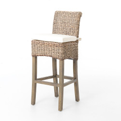Four Hands Banana Leaf Bar Stool + Counter Stool