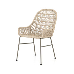 Four Hands Bandera Outdoor Woven Dining Chair