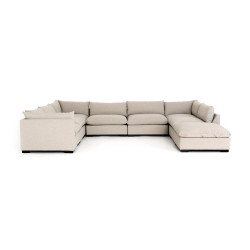Four Hands Westwood 7 - Piece Sectional W/ Ottoman