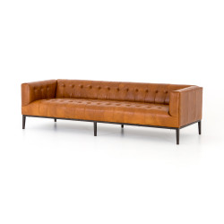 Four Hands Marlin Leather Sofa