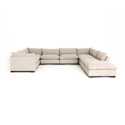 Four Hands Westwood 8 - Piece Sectional W/ Ottoman