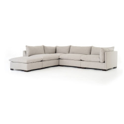 Four Hands Westwood 4 - Piece Sectional W/ Ottoman