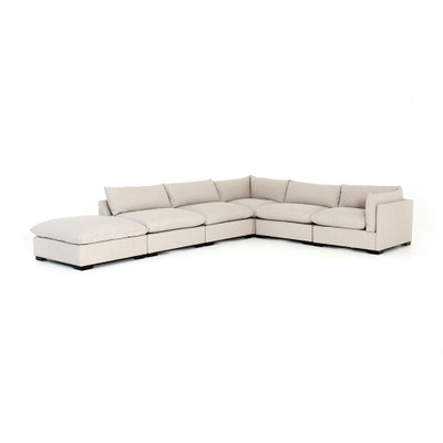 Four Hands Westwood 5 - Piece Sectional W/ Ottoman