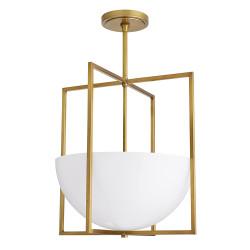 Royce Pendant - Antique Brass