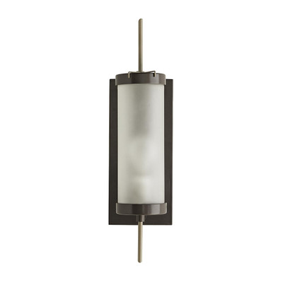 Stefan Outdoor Sconce - Aged Iron/Nickel