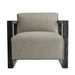 Duran Chair Fossil Tweed Black Cerused