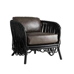 Strata Lounge Chair - Black/Graphite