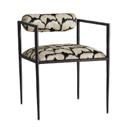 Barbana Chair Ocelot Embroidery - Ocelot/Natural