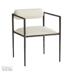 Barbana Chair Muslin - White/Natural