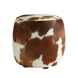 Owen Ottoman - Brown and White Hide