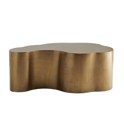 Meadow Cocktail Table - Antique Brass