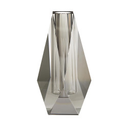Gemma Tall Vase - Smoke