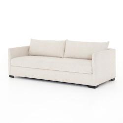 Four Hands Wickham Full Sofa Bed - Alameda Snow - Espresso