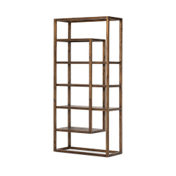 Four Hands Waylon Bookshelf - Harvest Brown
