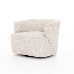 Four Hands Mila Swivel Chair - Brazos Dove