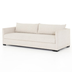 Four Hands Wickham Queen Sofa Bed - Alameda Snow - Espresso